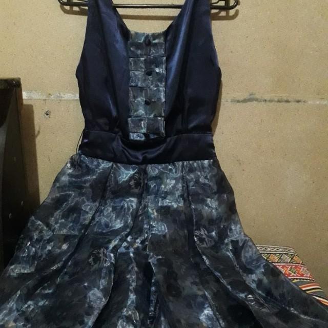 X Royal Blue Dress