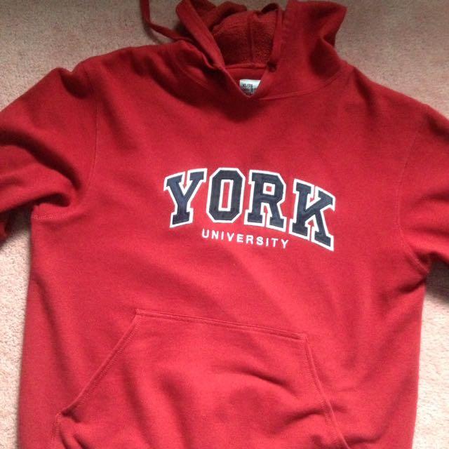 York University Red Hoodie