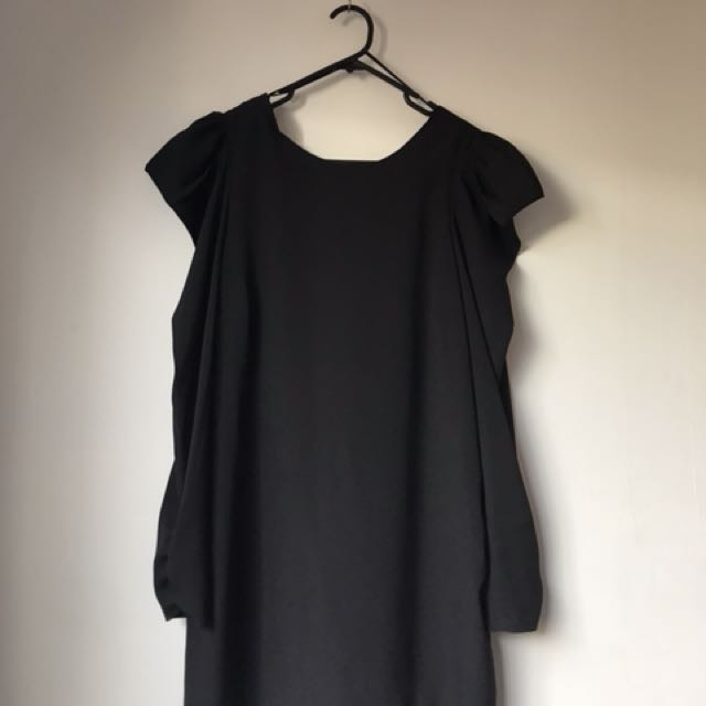 Zara Black Shift Dress