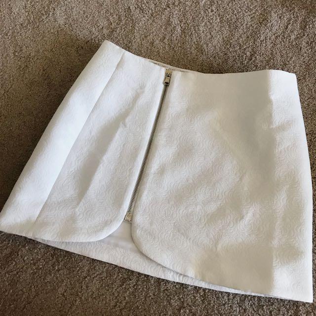 Zara rose skirt