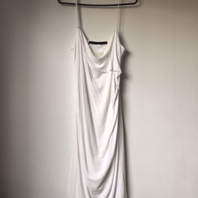Zara White Slip Dress
