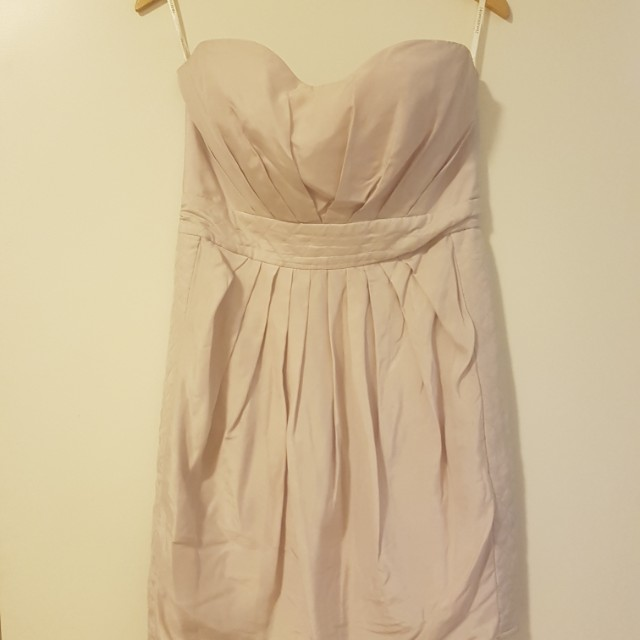 Zimmermann strapless dress sz 2