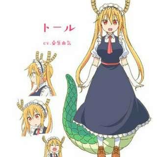 PRESALE Tohru cosplay set