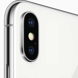 Iphone x 256 sliver