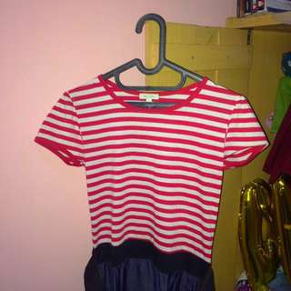 Stripe Dress Simple
