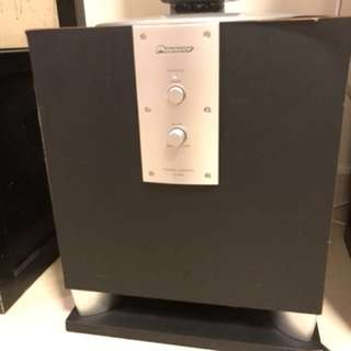 Pioneer SEW5 Powered Subwoofer