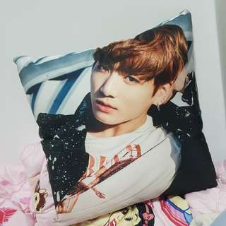 BTS 2 sided pillow