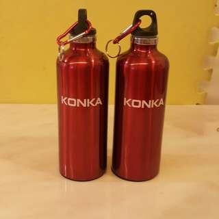 550ml不銹鋼保温瓶2個