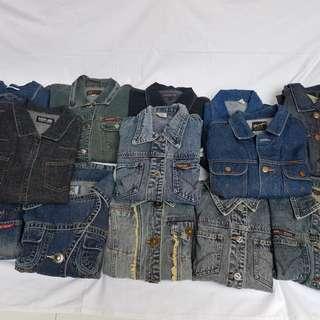 Jaket truker jeans japan