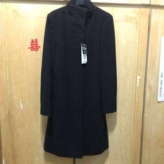 年終大特價 bossini 長版毛料大衣