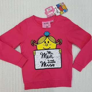Girl toddler sweatshirt jacket with Tag brand BALENO 5-7 yo