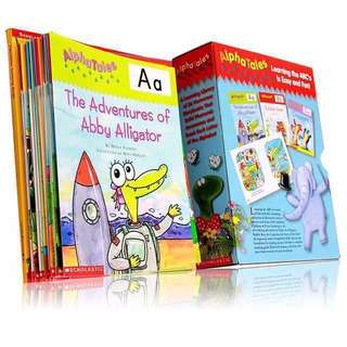 💥NEW - AlphaTales Learning Box - Scholastic #blackfridaysale