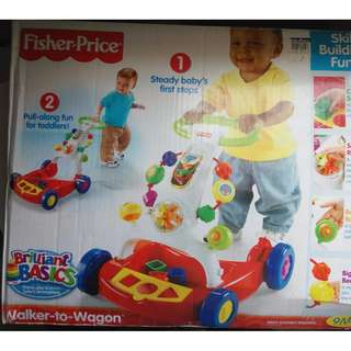 (crazy 70% sale) Fisher-Price Walker-to-Wagon (Original)