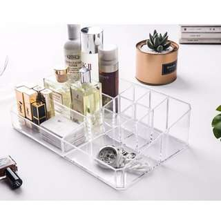 Clear Dressing Tabletop Organizer