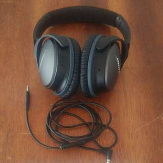 Bose Noise Canceling Headphones QuietComfort QC 25 Amazing Sound