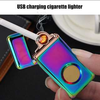 USB rechargeable flameless Windproof Lighter