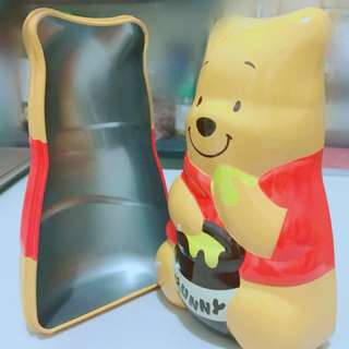 🚚 日本迪士尼 小熊維尼鐵盒