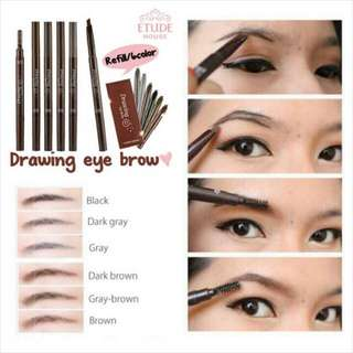 AUTHENTIC ETUDE HOUSE DRAWING EYEBROW