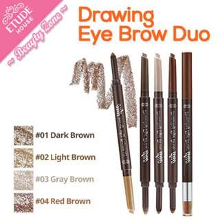 AUTHENTIC ETUDE HOUSE EYEBROW DUO