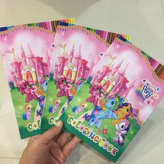 $1.20 ++ My little Pony Colouring book