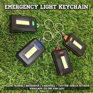 Set of 2 Keychain Emergency Light