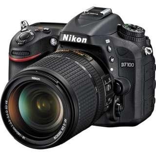 Kredit Nikon D7100 DSLR Camera with 18-140mm Lens tanpa kartu kredit