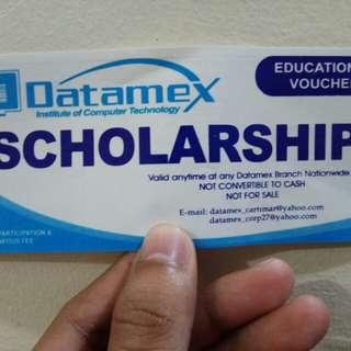 Datamex Educational Voucher