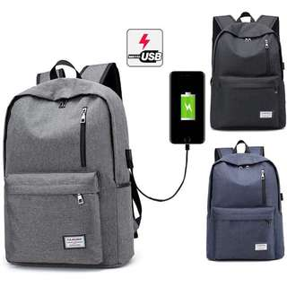 (Free postage) multifunction Laptop bag / Traveling backpack 🎒 USB charging
