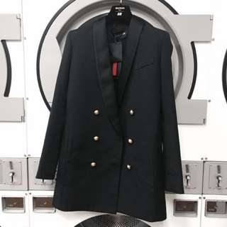 Balmain X H&M double-breasted blazer