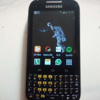 Samsung Chat B5330 Android Normal Murah.