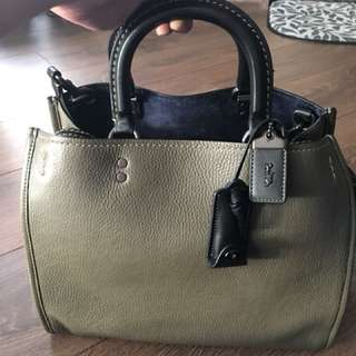 BNWT Coach 1941 Rogue Bag in Olive/Black Copper $400