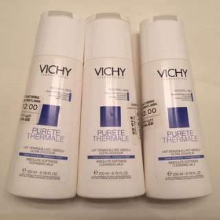 Vichy cleansing milk