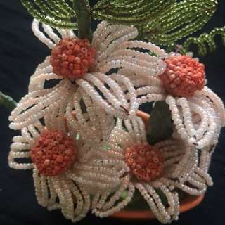 Handmade flower decoration piece