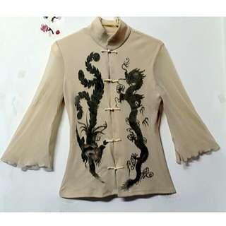 秋季中國風上衣