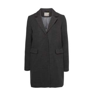 Grey wool coat from Hudson's bay