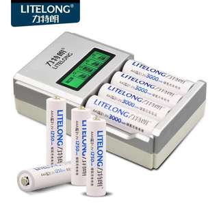 Rechargeable battery & charger