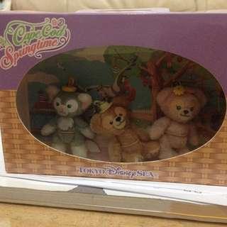達菲 Duffy 春季巡航多用途吊飾釦禮盒組