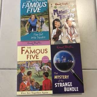 Enid Blyton Books - Fantastic Five writer
