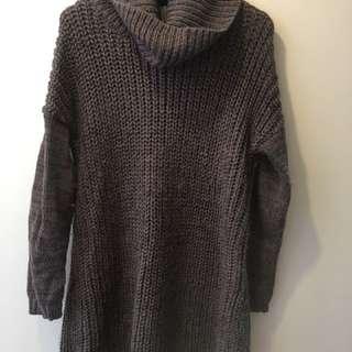 Oversized Woollen jumper (Long)