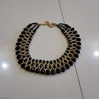 Kalung navy diamond
