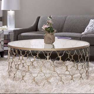 Wave Gold Table