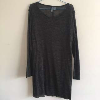 FREE with any purchase over $10 See through grunge knit top