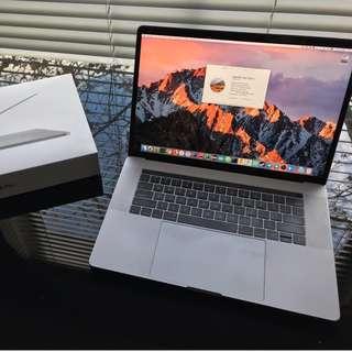 "MacBook Pro 15"" Touch Bar 2016 i7 2.9GHz 16GB 512GB Radeon 460 4GB Space Gray"