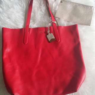 Fossil Fairfax Real Red