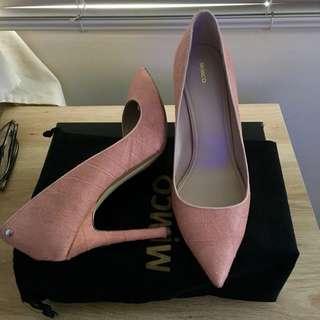 MIMCO Pink texture heels size 42