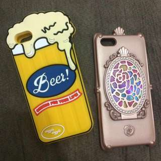 REPRICED!! 2 for 400 (iPhone 5/5s Cases)