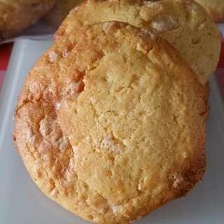 Lemon N White chocolate cookies