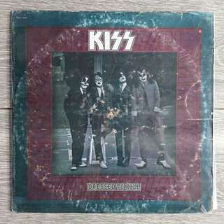 KISS Dressed to Kill Vintage LP Vinyl Record Plaka