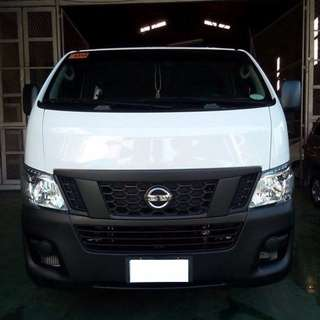 NEW MODEL NISSAN URVAN  18 PAX FOR RENT