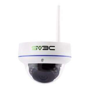 SV3C 960P WiFi IP Home/Outdoor Surveillance Camera, 64GB SD Card for Record, SV-D02W-960P